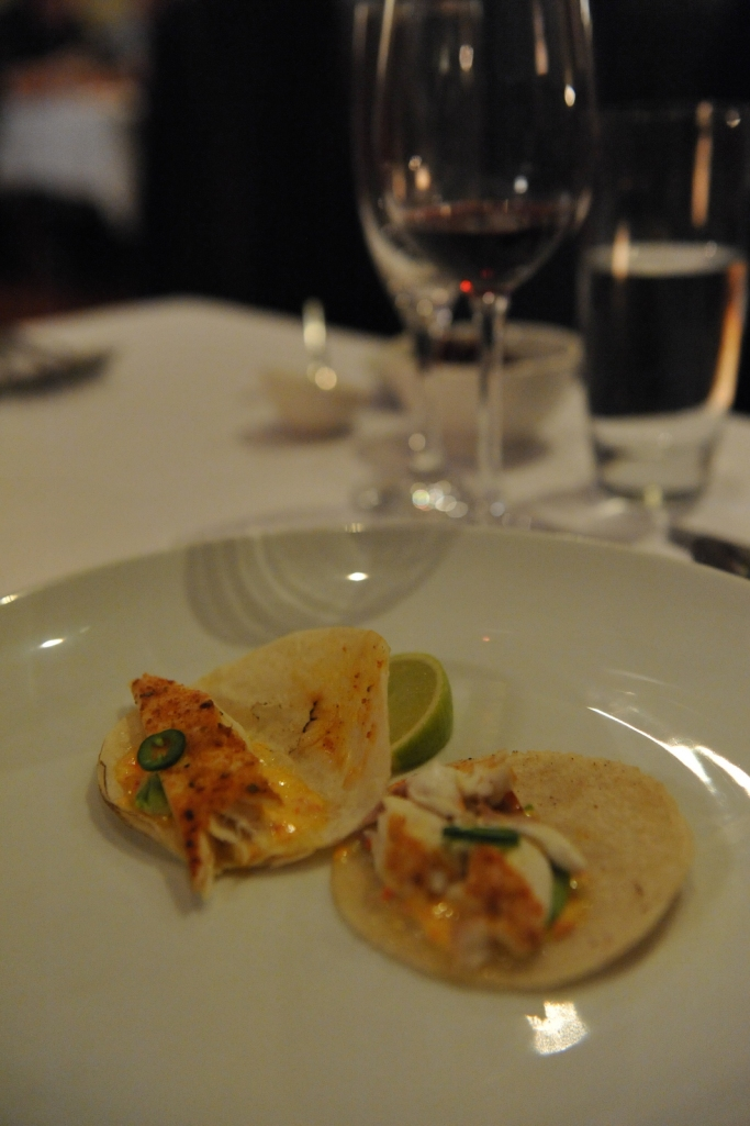 Lamont Bishops House (10) Snapper taco with roast capsicum aioli and saffron