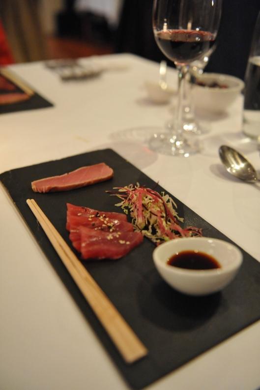 Lamont Bishops House (12) Sesame Tuna seared belly with Yuzu soy
