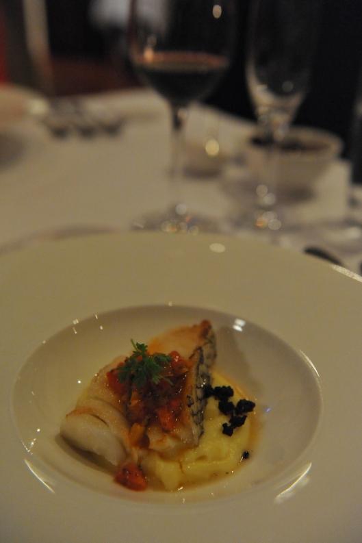 Lamont Bishops House (13) Patagonian Toothfish with potato puree oven roast Caponata