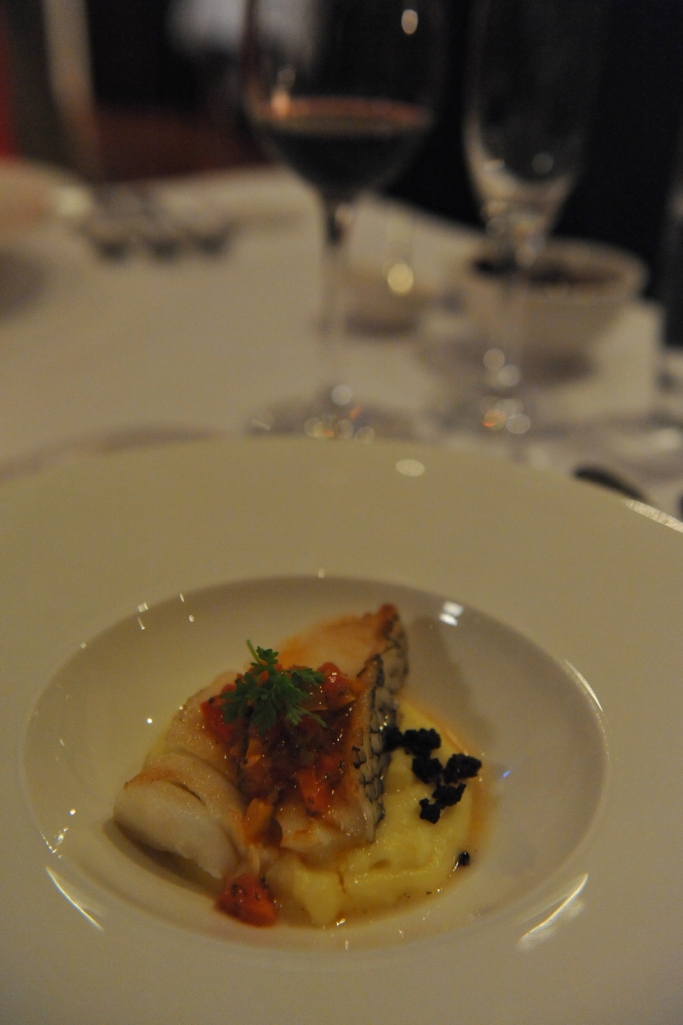 Lamont Bishops House (13) Patagonian Toothfish with potato puree oven roast Caponata