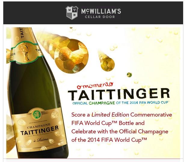 champagne en promotion