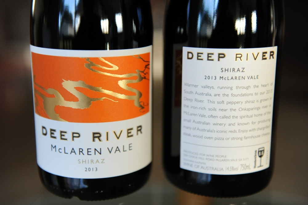 Deep River McLaren Vale Shiraz 2013