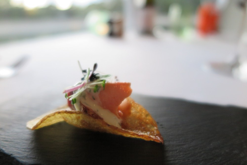 Cape Lodge Margaret River Amuse Bouche Smoked Trout