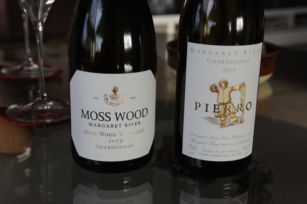 Moss Wood vs Pierro Chardonnay 2009 Margaret River