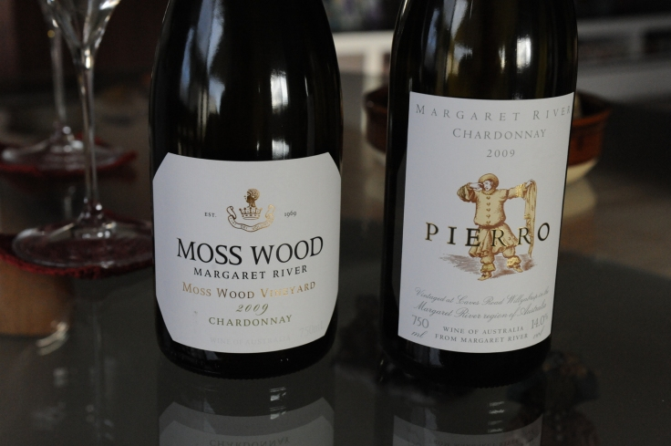 Moss Wood vs Pierro Chardonnay 2009 Margaret River