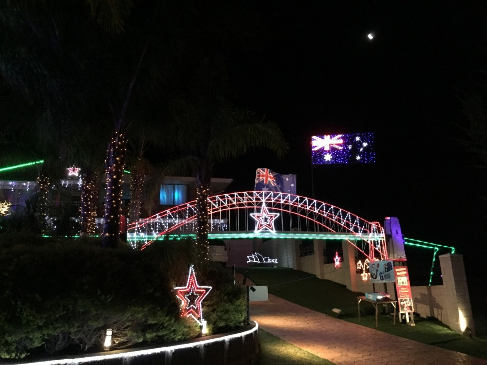 Christmas Lights Bunbury